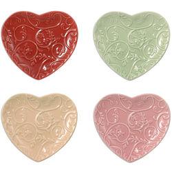 Sweetheart Tidbit Plates