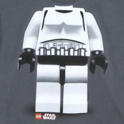 Storm Trooper Star Wars Lego Boys T-Shirt
