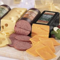 The Jumbos Gift of 3 Cheese and Sausage Logs