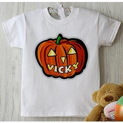 Glow in the Dark Pumpkin Infant T-Shirt