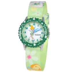 Girl's Personalized Time Teacher Tinker Bell Watch