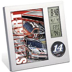 Tony Stewart NASCAR Desk Clock