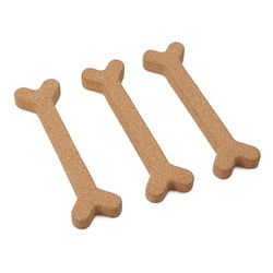 Bone Appetit Cork Trivet Set