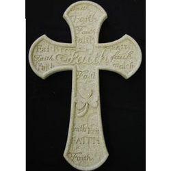 Shamrock Faith Cross