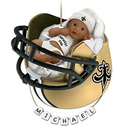 NFL Personalized Baby's First Ornament