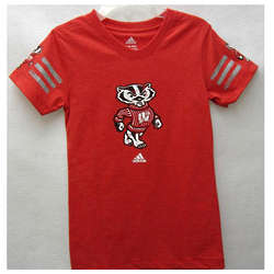 Preschool Girl's Bucky Badger Jersey T-Shirt