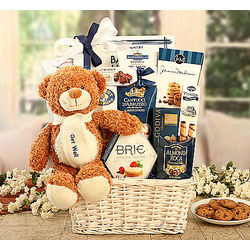 Get Well Bear Gift Basket