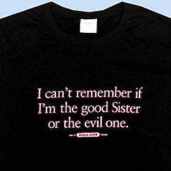 Good or Evil Sister T-Shirt