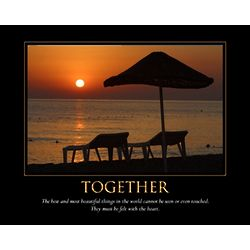 Personalized Together Art Print