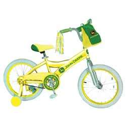 "John Deere 16"" Girl's Bicycle"