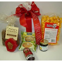 Wisconsin Gourmet Snacks Gift Box