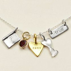 Book of Love Charm Necklace