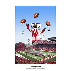 Wisconsin Badgers Fifth Quarter Print