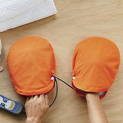 Handwarming Massage Mitts