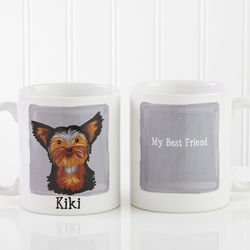 Top Dog Breed Personalized Coffee Mug