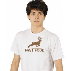Fast Food Deer Hunting Shirt