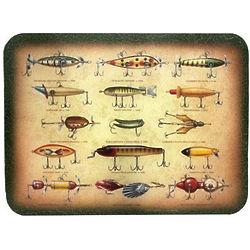Antique Lure 12x16 Cutting Board