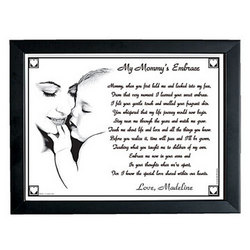 Mom and Grandma Embrace 8x10 Prints