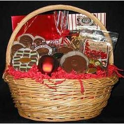 Christmas Chocolate Gift Basket
