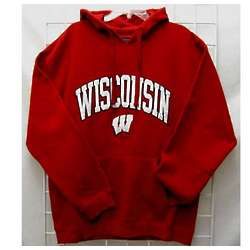 Men's University of Wisconsin Hooded Sweatshirt