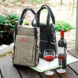 Personalized Insulated Wine Cooler Tote