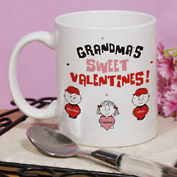 Sweet Valentines Personalized Coffee Mug