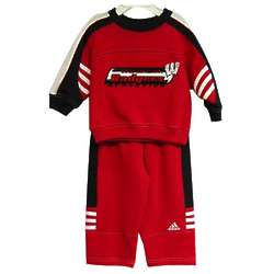 Badgers Infant Sweatshirt and Pant Set