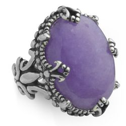 Purple Quartzite Ring