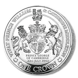 The New Royal Prince Silver Crown Coin