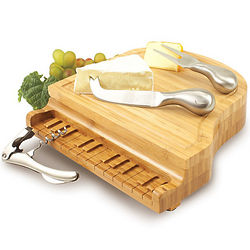 Piano Cheese Board and Tool Set