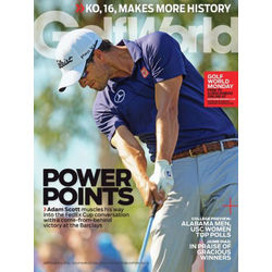 Golf World Magazine 15-Issue Subscription