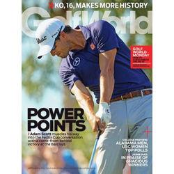 Golf World Magazine 15-Issue Subscription