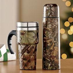 2-Piece Camo Travel Mug Set