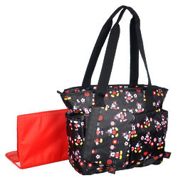 Mickey and Minnie Mouse Loving Garden Diaper Bag
