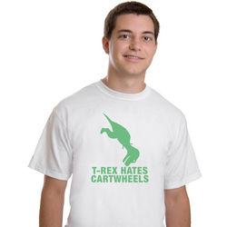 T-Rex Hates Cartwheels T-Shirt