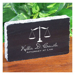Personalized Lawyer Paperweight