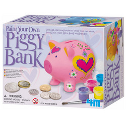 Paint a Pig Saving Bank