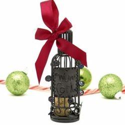 Cork Saver Wine Bottle Ornament