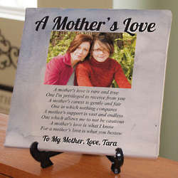 Personalized Mother's Love Photo Canvas