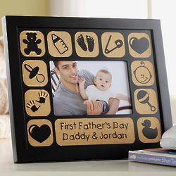 Personalized First Time Horizontal Frame