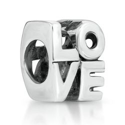 Love Block Bead Charm