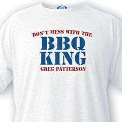 BBQ King Custom T-Shirt
