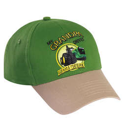My Grandpa Drives John Deere Toddler Cap