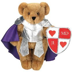 "15"" Knight in Shining Armor Teddy Bear"