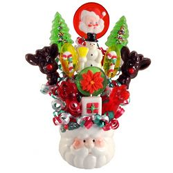 Santa Lollipop Bouquet