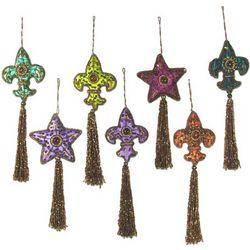 Happy Holiday Beaded Ornaments