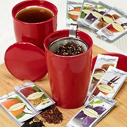 Warming Spice Tea Brewing System Gift Set