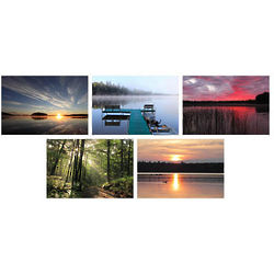 Wisconsin Sunrises and Sunsets Photo Note Cards