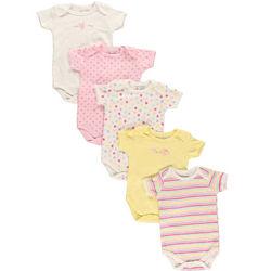 Baby Bunny Bodysuits Gift Set