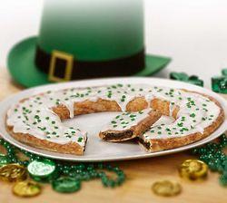 St. Patrick's Day Chocolate Mint Filled Kringle